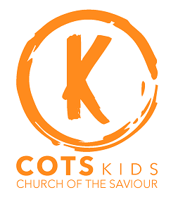 COTS Kids logo - orange cropped - 253px